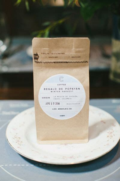 Wedding Favors Downtown Los Angeles by Whimsical Brunch Wedding In Downtown Los Angeles Brunch