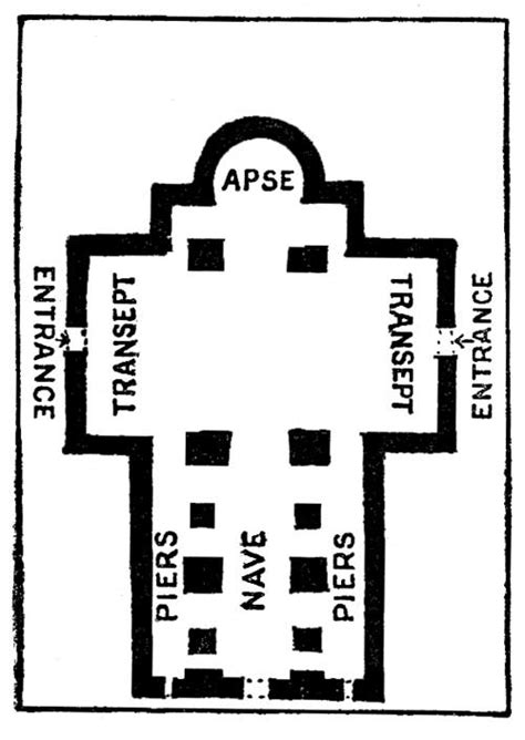 romanesque church floor plan the romanesque architecture in the philippines
