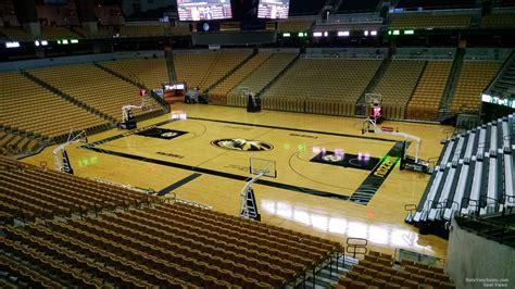 the seat columbia missouri mizzou arena section 117 rateyourseats