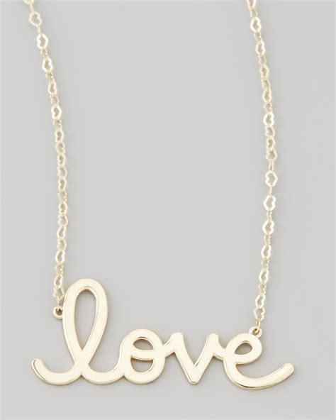 jewelry supplies sydney sydney evan gold pendant necklace in metallic lyst