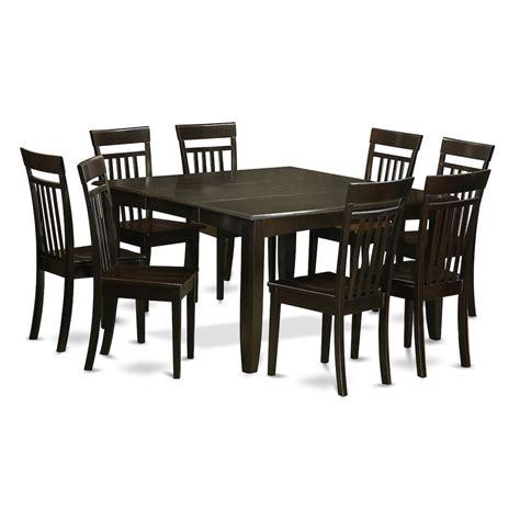 8 pc dining room set marmaraespor com 9 pc dining room set dinette table with leaf and 8 dinette