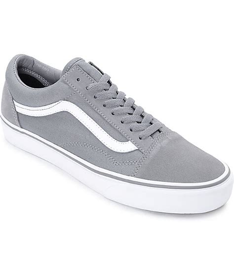 Vans Skool Black Grey vans skool gray vans womens black shoes