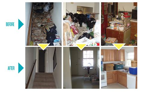 Hoarder House Before And After by Hoarding Servicemaster Southwest