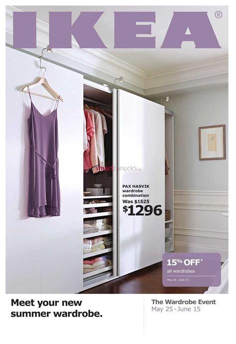 Ikea Closet Event ikea wardrobe event flyer may 25 to june 15