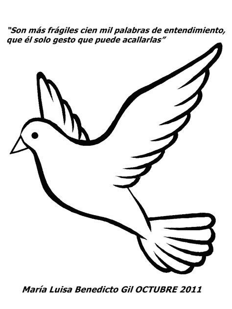 imagenes de palomas blancas de la paz free paloma animadas coloring pages
