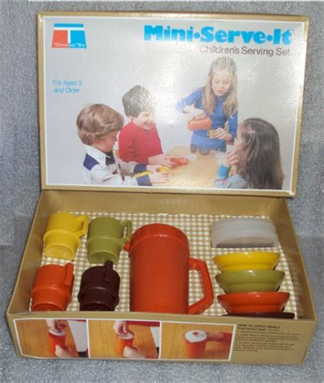 Tupperware Lucky Dish vintage tupperware mini serve it children s play dishes set 1979 in the uae see prices