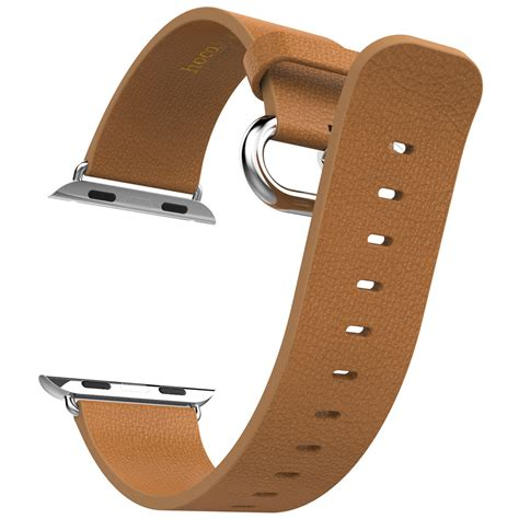 Hoco Bamboo Texture Leather Band For Apple 42mm Limited hoco genuine leather watchband apple 42mm brown