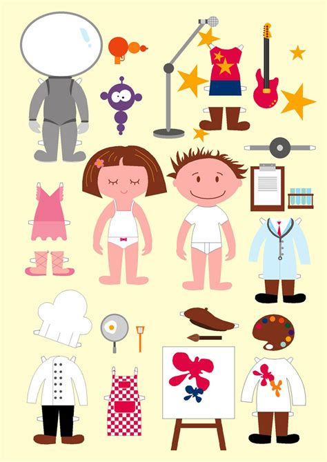 printable paper dolls printable girl astronaut cut out page 2 pics about space