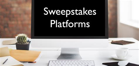 Sweepstakes Platform - looking for the best sweepstakes platform sync marketing