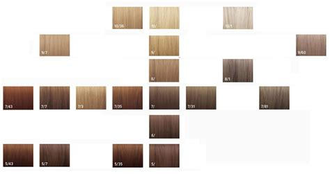 wella illumina color wella illumina color chart brown hairs