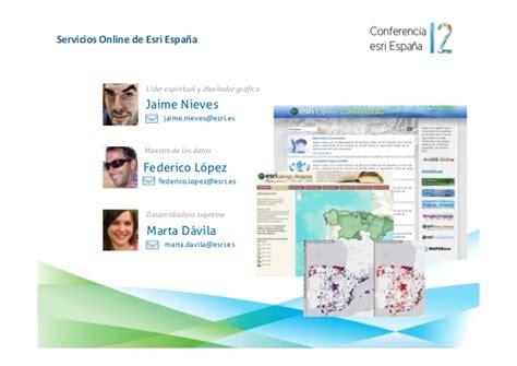 tutorial arcgis en español arcgis online conferencia esri espa 241 a 2012