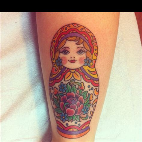 russian nesting doll tattoo 102 best images about matryoshka sugar skull on