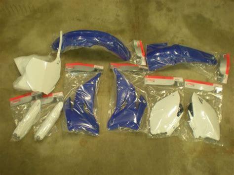 Oem Yz450f 2009 Plastik Kit buy 2006 2009 yamaha yz450f plastic kit w fenders on