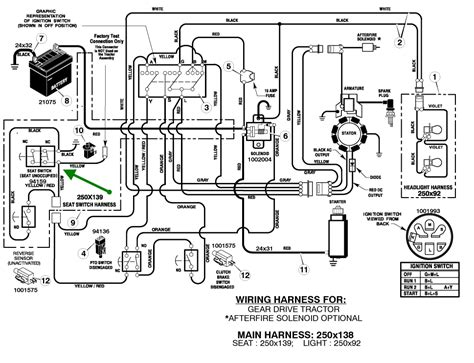 deere lt155 wiring diagram kohler ignition wiring