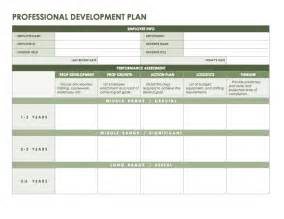 Professional Business Plan Template Professional Development Plan Template Word