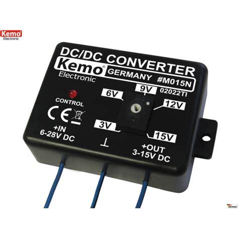 alimentatore 15v convertitore dc dc step stabilizzato regolabile da 3v