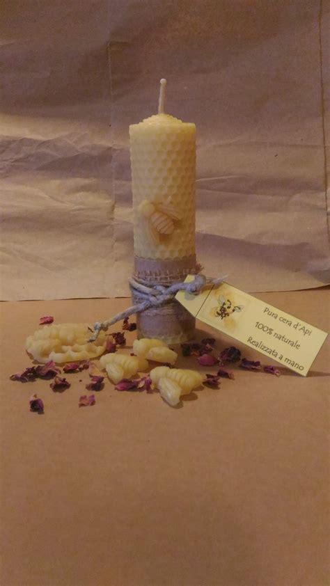 candele di cera oltre 1000 idee su candele di cera d api su