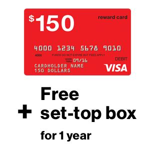 Verizon Fios Gift Card - verizon fios free 150 visa gift card mybargainbuddy com