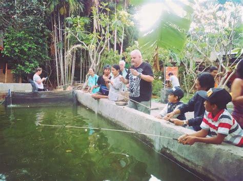Pancing Di Bali wisata kolam pancing jadi lokasi alternatif wisata bali