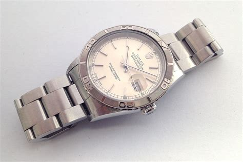 Rolex Balok jam tangan second sold rolex datejust turn o graph 16264 ca 2005