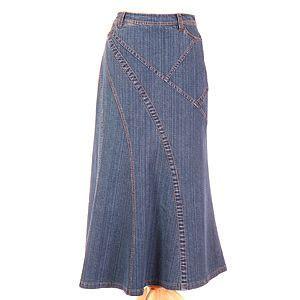 Modena Maxi Washed No Belt best 25 modest denim skirts ideas on