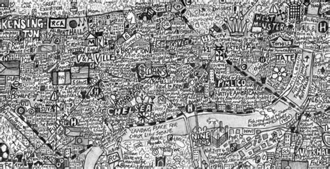the island london mapped 3791381571 typographic maps spatial ly