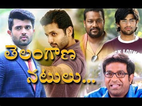 In Telugu Industry by Telangana Actors In Telugu Industry