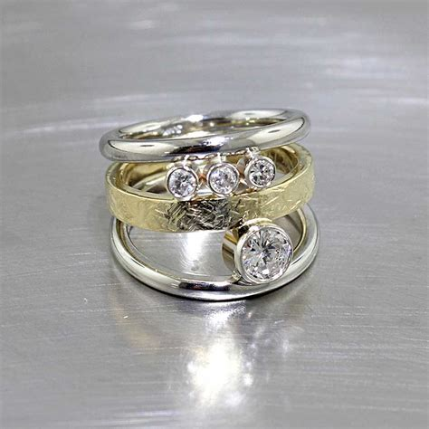 non traditional engagement rings jewelsmith innovative