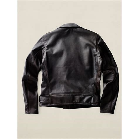 Leather Jaket Edition 102 lyst rrl limited edition leather jacket in brown for