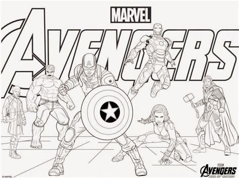 Coloring Pages Marvel Avengers | avengers coloring pages best coloring pages for kids