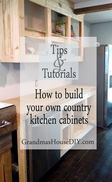 how to build custom cabinets how to build kitchen cabinets with kreg jig