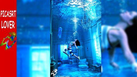 picsart fantasy tutorial picsart underwater editing fantasy alone girl picsart