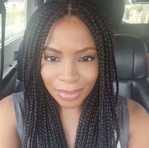 old box braids how to make old box braids look new