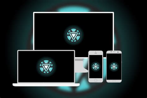 iron mans arc reactor wallpaper multi devise bloid