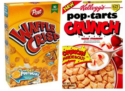 House Hacks by Discontinued Foods Bracket Waffle Crisp Vs Pop Tarts