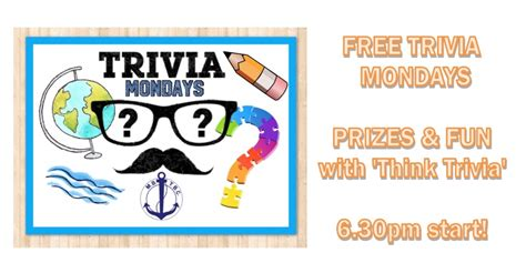trailer boat club quiz night free monday trivia nights with think trivia moreton bay