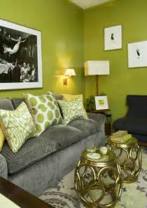grey yellow green living room gray green walls design decor photos pictures ideas