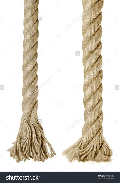 An End To The Rope rope ends and tiny pieces of thread general houdini