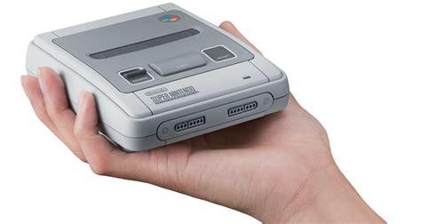 console nintendo anni 90 nintendo classic mini arriva la riedizione della console