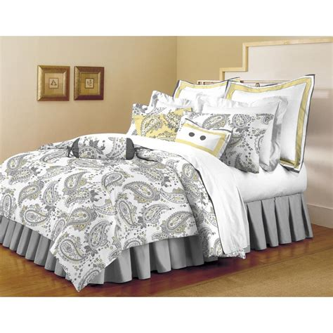 home trends comforter home dynamix classic trends gray yellow 5 piece full queen