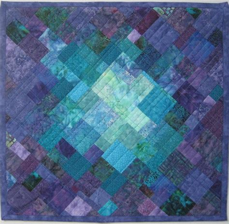 Modern Quilts And Coverlets Geometrics And Mosaics Quilts Gallery Art Quilts By Sharon