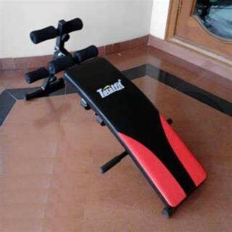 Alat Fitness Sit Up Bench Board Toner Alat Olahraga Sit Up Bench