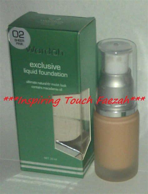 Wardah Makeup Exclusive wardah cosmetic exclusive liquid foundation wardah