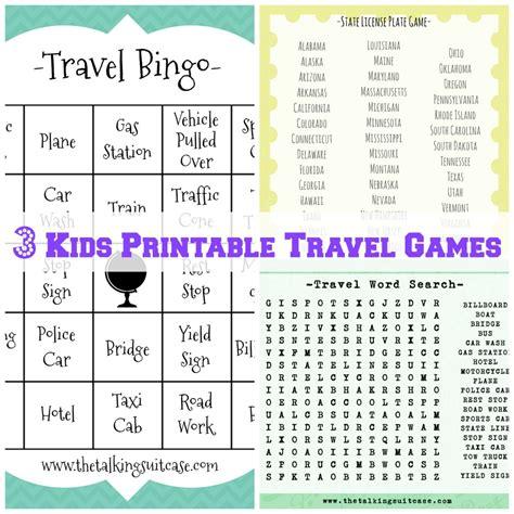 printable vacation games kids printable travel games i printable childrens travel games