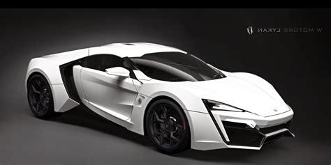 W Motors Lykan Hypersport Specs   Concept Sport Car Design