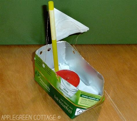 toy boat recycled materials how to make boats for kids from repurposed materials