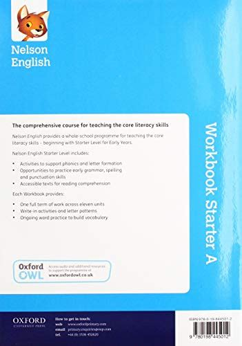 nelson english starter level workbook  age