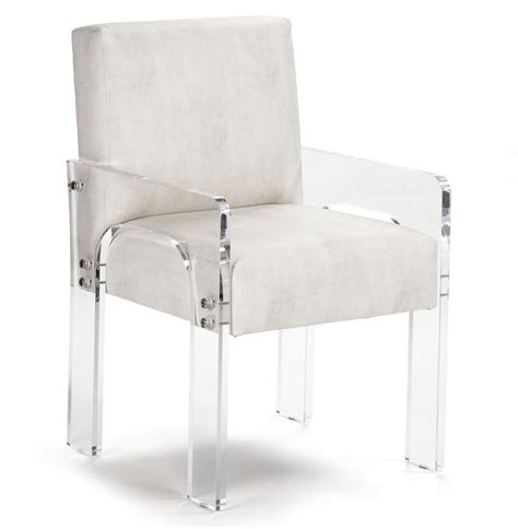 modern acrylic furniture aniston modern deco acrylic arm chair kathy kuo home