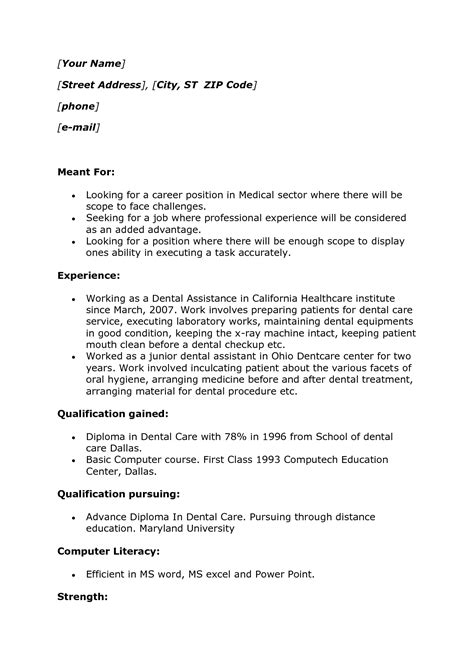 Resume Sle For Lab Technician Collision Repair Sle Resume Rental Lease Agreement Template Word Mobile Application Developer