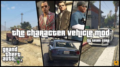 mod gta 5 character the character vehicle mod net w trunk weapons gta5